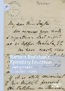 Cover-Bild zu Simon-Martin, Meritxell: Barbara Bodichon's Epistolary Education (eBook)
