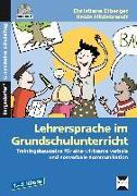 Cover-Bild zu Lehrersprache im Grundschulunterricht von Eiberger, Christiane