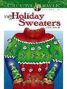 Cover-Bild zu Creative Haven Ugly Holiday Sweaters Coloring Book von Kraft, Ellen