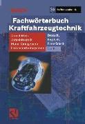 Cover-Bild zu Gmbh, Robert Bosch: Fachwörterbuch Kraftfahrzeugtechnik (eBook)