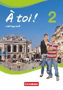 Cover-Bild zu À toi !, Vier- und fünfbändige Ausgabe, Band 2, Lerntagebuch von Herzog, Walpurga