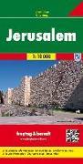 Cover-Bild zu Jerusalem, Stadtplan 1:10.000. 1:10'000