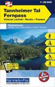 Cover-Bild zu Hallwag Kümmerly+Frey AG (Hrsg.): Tannheimer Tal, Fernpass, Unteres Lechtal, Reutte, Plansee. 1:35'000
