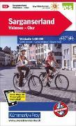 Cover-Bild zu Hallwag Kümmerly+Frey AG (Hrsg.): Sarganserland-Chur-Domleschg Velokarte Nr. 13. 1:60'000