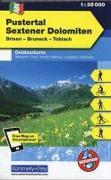 Cover-Bild zu Hallwag Kümmerly+Frey AG (Hrsg.): Pustertal, Setener Dolomiten, Brixen-Bruneck. 1:35'000