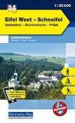 Cover-Bild zu Hallwag Kümmerly+Frey AG (Hrsg.): Eifel West - Schneifel, Hellenthal, Blankenheim, Prüm. 1:35'000