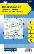 Cover-Bild zu Hallwag Kümmerly+Frey AG (Hrsg.): Oberstaufen Outdoorkarte Deutschland Nr. 55. 1:35'000