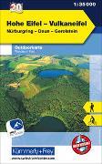 Cover-Bild zu Hallwag Kümmerly+Frey AG (Hrsg.): Hohe Eifel - Vulkaneifel Outdoorkarte Deutschland Nr. 20. 1:35'000
