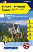 Cover-Bild zu Hallwag Kümmerly+Frey AG (Hrsg.): Füssen - Pfronten Nr. 2 Outdoorkarte Deutschland 1:35 000. 1:35'000