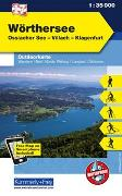 Cover-Bild zu Hallwag Kümmerly+Frey AG (Hrsg.): Wörthersee, Ossiacher See, Villach, Klagenfurt. 1:35'000