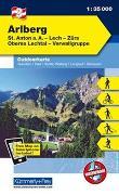 Cover-Bild zu Hallwag Kümmerly+Frey AG (Hrsg.): Arlberg, St. Anton a. A., Lech, Zürs, Oberes Lechtal, Verwallgruppe. 1:35'000