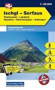 Cover-Bild zu Hallwag Kümmerly+Frey AG (Hrsg.): Ischgl, Serfaus, Paznauntal, Landeck, Nauders, Reschenpass, Samnaun. 1:35'000