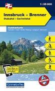 Cover-Bild zu Hallwag Kümmerly+Frey AG (Hrsg.): Innsbruck, Brenner, Stubaital, Schnitztal. 1:35'000