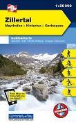 Cover-Bild zu Hallwag Kümmerly+Frey AG (Hrsg.): Zillertal Outdoorkarte Österreich Nr. 09. 1:50'000