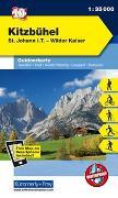 Cover-Bild zu Hallwag Kümmerly+Frey AG (Hrsg.): Kitzbühel, St. Johann i. T., Wilder Kaiser. 1:35'000