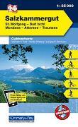 Cover-Bild zu Hallwag Kümmerly+Frey AG (Hrsg.): Salzkammergut, St. Wolfgang, Bad Ischl, Mondsee, Attersee, Traunsee. 1:35'000