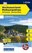 Cover-Bild zu Hallwag Kümmerly+Frey AG (Hrsg.): Hochsauerland - Rothaargebirge, Winterberg, Bad Berleburg. 1:50'000