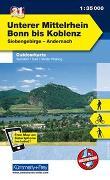 Cover-Bild zu Hallwag Kümmerly+Frey AG (Hrsg.): Unterer Mittelrhein von Bonn - Koblenz, Siebengebirge, Andernach. 1:35'000