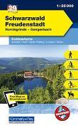 Cover-Bild zu Hallwag Kümmerly+Frey AG (Hrsg.): Schwarzwald - Freudenstadt, Hornisgrinde, Gengenbach. 1:35'000