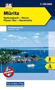 Cover-Bild zu Hallwag Kümmerly+Frey AG (Hrsg.): Müritz, Nationalpark, Waren, Plauer See, Neustrelitz. 1:50'000