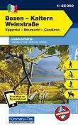 Cover-Bild zu Hallwag Kümmerly+Frey AG (Hrsg.): Bozen-Kaltern, Weinstrasse, Eggental, Neumarkt, Cavalese. 1:35'000