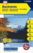 Cover-Bild zu Hallwag Kümmerly+Frey AG (Hrsg.): Dachstein, Hallstatt, Bad Aussee, Grundlsee, Ramsau, Schladming. 1:35'000