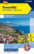 Cover-Bild zu Hallwag Kümmerly+Frey AG (Hrsg.): Teneriffa San Cristobal - Santa Cruz. 1:60'000