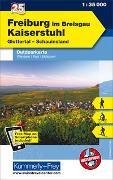 Cover-Bild zu Hallwag Kümmerly+Frey AG (Hrsg.): Freiburg im Breisgau - Kaiserstuhl, Glottertal, Schauinsland, Nr. 25 Outdoorkarte Deutschland 1:35 000. 1:35'000