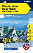 Cover-Bild zu Hallwag Kümmerly+Frey AG (Hrsg.): Wendelstein - Rosenheim, Bayrischzell, Kufstein. 1:35'000