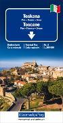 Cover-Bild zu Hallwag Kümmerly+Frey AG (Hrsg.): Toskana Regionalkarte Italien Nr. 8. 1:200'000