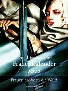 Cover-Bild zu Der literarische Frauenkalender 2022 von Hörner, Unda (Hrsg.)