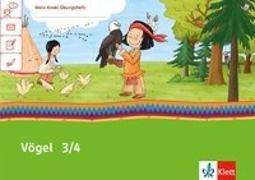 Cover-Bild zu Mein Indianerheft. Vögel. Arbeitsheft Klasse 3/4