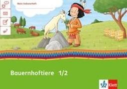 Cover-Bild zu Mein Indianerheft. Tiere auf dem Bauernhof. Arbeitsheft 1.-2. Schuljahr