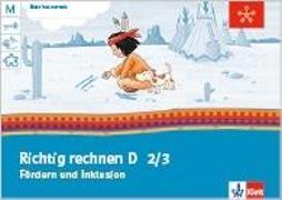 Cover-Bild zu Mein Indianerheft. Richtig rechnen D. Fördern und Inklusion. Arbeitsheft 2./3. Schuljahr