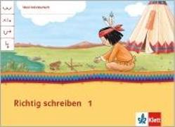 Cover-Bild zu Mein Indianerheft. Richtig schreiben. Klasse 1