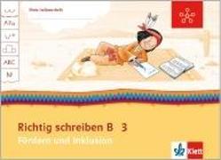 Cover-Bild zu Mein Indianerheft. Richtig schreiben B. Fördern und Inklusion. Arbeitsheft 3. Schuljahr