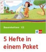 Cover-Bild zu Mein Indianerheft. Bauernhoftiere. Arbeitsheft Klasse 1/2 (5-er Paket)