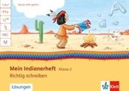 Cover-Bild zu Mein Indianerheft. Richtig schreiben 2. Arbeitsheft 2. Schuljahr