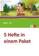 Cover-Bild zu Mein Indianerheft. Wald. Arbeitsheft Klasse 3/4 (5-er Paket)