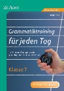 Cover-Bild zu Grammatiktraining für jeden Tag Klasse 7 von Zeeb, Birgit