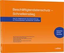 Cover-Bild zu Beschäftigtendatenschutz - Schnelleinstieg von Duda, Daniela