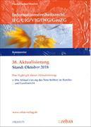 Cover-Bild zu 38. Aktualisierung - Informationsfreiheitsrecht IFG/UIG/VIG/IWG/GeoZG