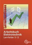 Cover-Bild zu Arbeitsbuch Elektrotechnik Lernfelder 5-13 von Braukhoff, Peter