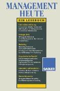 Cover-Bild zu Steinmann, Horst: Management heute