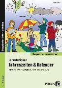 Cover-Bild zu Lernstationen Jahreszeiten & Kalender von Weber, Nicole