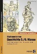 Cover-Bild zu Stationenlernen Geschichte 5./6. Klasse, Band 2 von Lauenburg, Frank