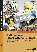 Cover-Bild zu Stationenlernen Geschichte 7./8. Klasse (eBook) von Lauenburg, Frank