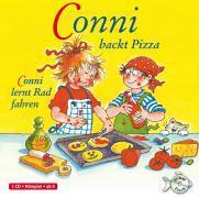 Cover-Bild zu Conni backt Pizza / Conni lernt Rad fahren
