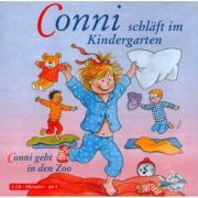 Cover-Bild zu Schneider, Liane: Conni schläft im Kindergarten/Conni geht in den Zoo