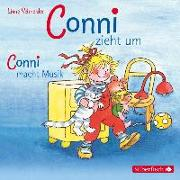 Cover-Bild zu Conni zieht um / Conni macht Musik